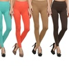 6-Pack Women's Slimming and Shaping Leggings