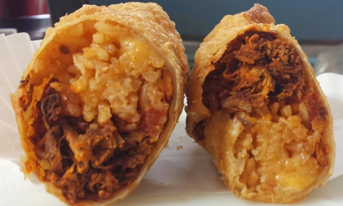 Frydeez - Austin: $9 for $15 Worth of Giant Fried Southwestern Egg Rolls at Frydeez
