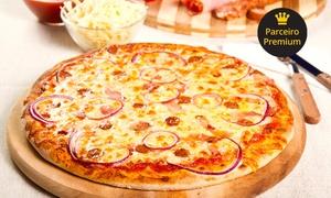 Tia Penha Restaurante e Pizzaria: #GreenWeek – Tia Penha Restaurante e Pizzaria – Santa Inês: 1 ou 2 pizzas gigantes