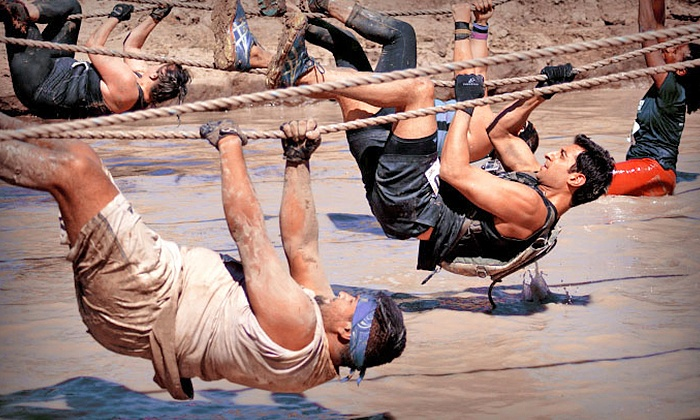 Mighty Mud Dash - Sam Houston Race Park: $45 Entry to the Mighty Mud Dash 5K on April 10 ($90 Value)
