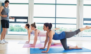 Yoga in Motion: Five Drop-In Yoga Classes or a 30-Day Unlimited Yoga Pass at Yoga in Motion (Up to 66% Off)