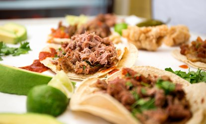 image for <strong>Mexican</strong> Food for Two or Four at TNT Tortas and Tacos (40% Off)