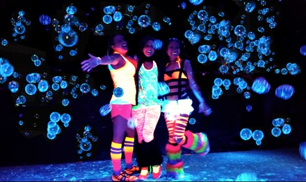 Race Entry for One or Two on Saturday, April 25 to the Blacklight Bubble Party 5K (50% Off)