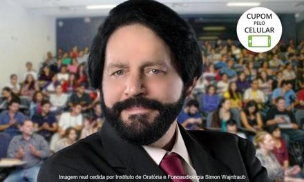 Simon Wajntraub – Barra da Tijuca: 2 ou 3 meses de curso de oratória – parcele sem juros