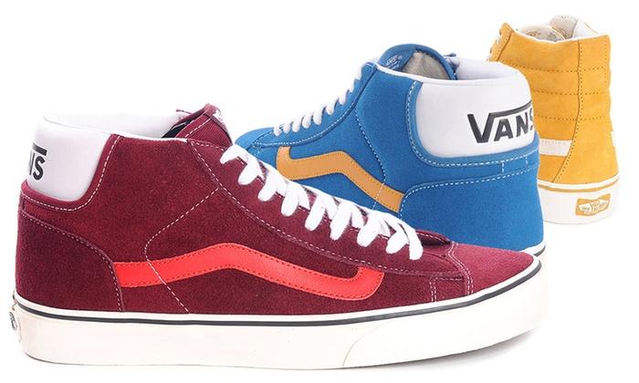Chaussures en cuir Vans   Groupon Shopping