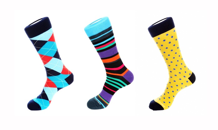J.P. Tuxedo Warehouse - In-Store Pickup: $25 for Three Pairs of Designer Socks with In-Store Pickup at J.P. Tuxedo Warehouse ($36 value)