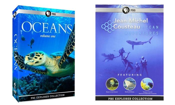 PBS Explorer Collection DVD Sets: PBS Explorer Collection DVD Sets from $24.99–$29.99