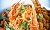 Nola's - Downtown Los Angeles: Unlimited Creole and Cajun Brunch for Two or Four with Signature Drinks and Live Jazz at Nola's (42% Off)