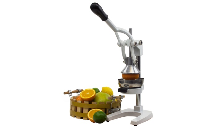 Up To 43 Off On Cast Iron Manual Juicer Livingsocial Shop