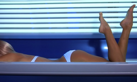 Three Mystic Spray Tans or One Month of Unlimited Tanning-Bed or -Booth Use at B-tan Tanning Salons (Up to 71% Off)