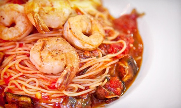 Primi Urban Cafe - St. Petersburg: $12 for $25 Worth of Italian Dinner Fare at Primi Urban Cafe in St. Petersburg