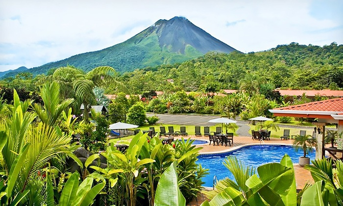 Travel by Jen - Volcano Lodge & Springs: 9-Day Costa Rica Vacation with Airfare from Travel by Jen; Price/Person Based on Double Occupancy