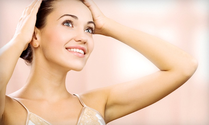New You Medical Group - Village: $99 for Six Laser Hair-Removal Sessions at New You Medical Group in La Jolla (Up to $900 Value)