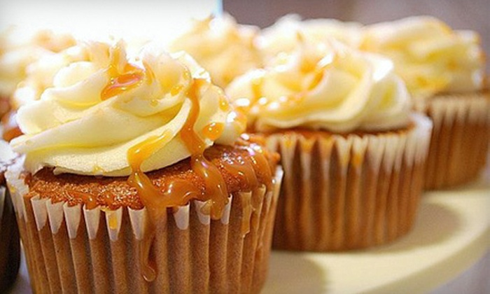 Marzena's Cakes - City Commercial Core: Up to 57% Off Gourmet Cupcakes at Marzena's Cakes