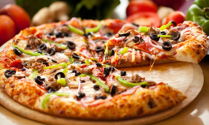 Gina's Brick Oven Pizza - West - East Hartford: $20 for Two Groupons, Each Good for $20 Worth of Pizza and Drinks at Gina's Brick Oven Pizza - West ($40 Value)