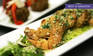 The Talk: Italian-American Food for Two or More on Weekday or Weekend at The Talk (Up to 46% Off)