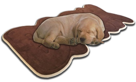 Shaped Memory Foam Dog Mats