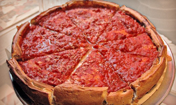 Carmine's Chicago Pizza Beef Italian Ice - Far North Side: $10 Worth of Deep-Dish Pizza and Eats