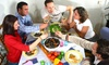 Jumping-Dinner: gemeinsam Kochen