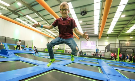 One-Hour Trampoline Park Access for One, Two or Four at Jump In (Up to 40% Off)