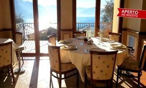 Ristorante Albergo Miranda: Ristorante Miranda, segnalato Michelin - Menu con vista sul Lago d'Iseo