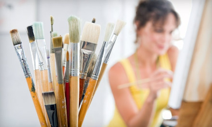 Artistic Abandon  - North Raleigh: $15 for Two-Hour BYOB Painting Class and Materials at Artistic Abandon ($30 Value)