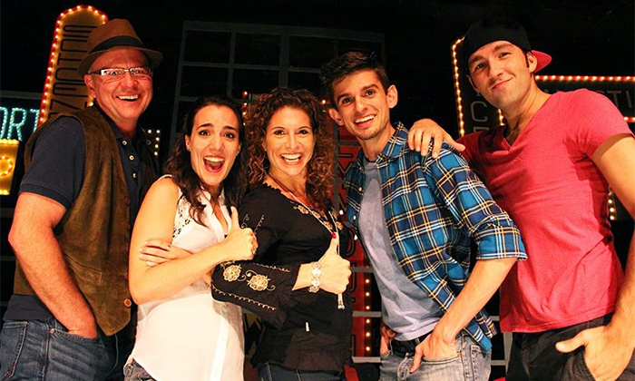 """""""Title of Show The Musical"""" - Riviera: Area Stage Company's """"Title of Show The Musical"""" at Riviera Theatre, May 30–June 15 (Up to 49% Off)"""