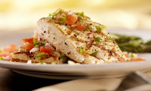 Up to 49% Off New Orleans–Style Seafood at Blu Crab   at Blu Crab, plus 6.0% Cash Back from Ebates.