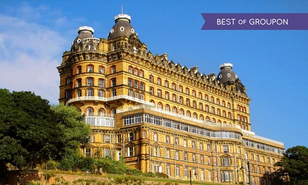 North Yorkshire: 1 Night for Two with Breakfast and Option for Dinner and Wine at Britannia Grand Hotel Scarborough