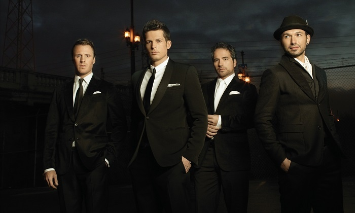 Christmas With The Tenors - Queen Elizabeth Theatre: Christmas with the Tenors at Queen Elizabeth Theatre on December 2 at 8 p.m. (Up to 49% Off)