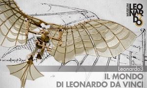 """Leonardo3, mostra interattiva Milano: Ingressi per la mostra """"Leonardo3 - Il Mondo di Leonardo"""" in Piazza della Scala a Milano (sconto 50%)"""