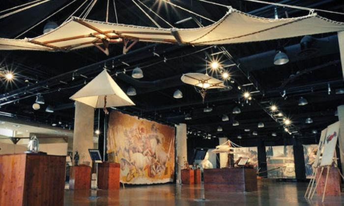 """Da Vinci & Michelangelo: Side by Side"" - Central Business District: Last Chance: $16 for ""Da Vinci & Michelangelo: Side by Side"" Exhibit for Two at Denver Pavilions (Up to $32 Value)"