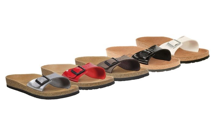 e6d914d6ecab Ladies  Birkenstock Relax 100 Footbed One Strap Sandals in Choice of 9  Colours for £29.99 (25% Off)