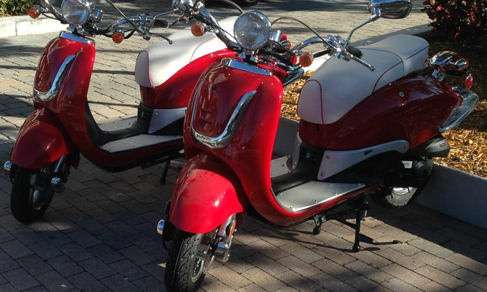 Scooteria - Edgewater: $28 for $50 Worth of Scooter Rental — Scooteria