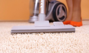 Affordable Carpet & Upholstery Cleaning: Steam Carpet Cleaning for Three or Five Rooms from Affordable Carpet & Upholstery Cleaning  (51% Off)