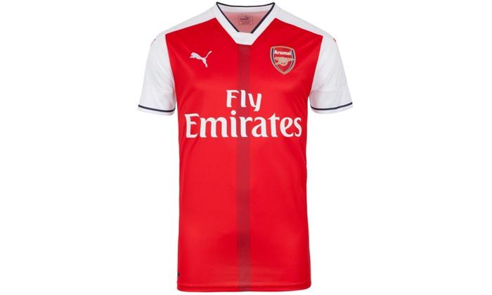 new product 26699 ca840 Puma Arsenal FC Junior Home Shirt