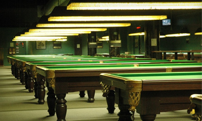 The Orange Monkey - West Centre Town - Little Italy - Civic Hospital East: $40 for a Three-Hour Billiards Package with Beer and Snacks at The Orange Monkey (Up to $82.48 Value)