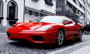 Eco Auto Care: Eco-Friendly, Waterless Exterior Auto Detail for a Car or SUV from Eco Auto Care Park and Wash (Up to 74% Off)