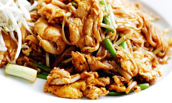 Siam Glastonbury - Glastonbury Center: Thai Cuisine at Siam Glastonbury (Half Off). Two Options Available.