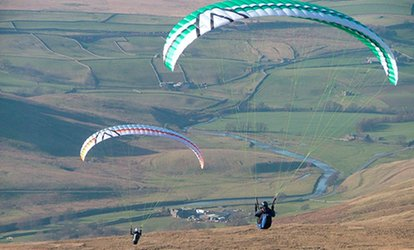 image for Solo Paragliding Taster Experience For One or Two at Sunsoar Paragliding (52% Off)