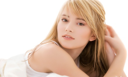 Haircut and Style with Optional Partial Highlights at Hair By Jose (50% Off)