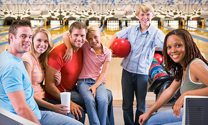 Maple Family Centers - Multiple Locations: $25 for a Bowling Package with Shoe Rentals and Soda for Up to Three at Maple Family Centers (Up to $63 Value)