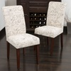 Two Cosette Script Dining Room Chairs