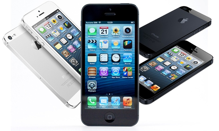 apple iphone 4 ou 5 reconditionn groupon shopping. Black Bedroom Furniture Sets. Home Design Ideas