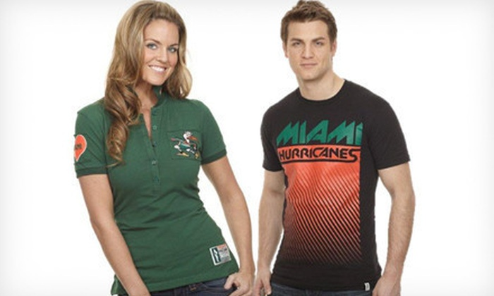 Flying Colors Apparel: $15 for $30 Worth of Collegiate Sports Apparel from Flying Colors Apparel
