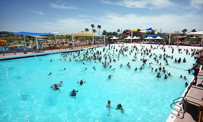 Wet 'n' Wild Phoenix - Glendale: $32 for Full-Day Water-Park Visit with Evening Luau on Saturday, June 29 at Wet 'n' Wild Phoenix (Up to $62.80 Value)