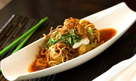Asian Fusion Cuisine at Eat Street Buddha Kitchen & Lounge (Up to 45% Off). Two Options Available.