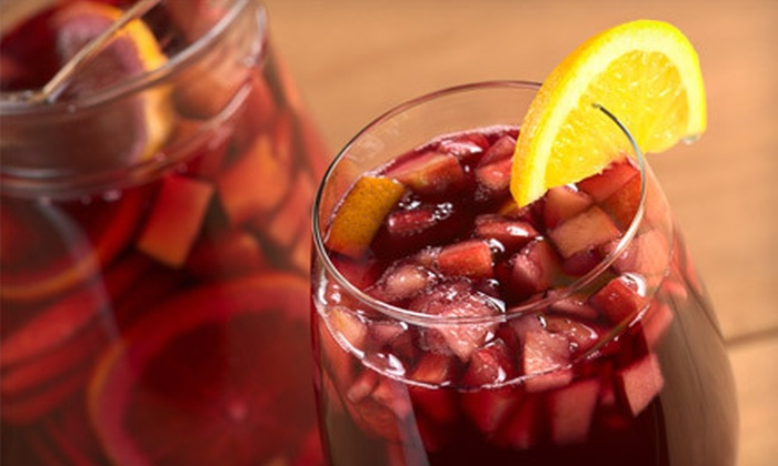 Saffron Restaurant and Tapas Bar - Howard Beach: $35 for Four Tapas Plates and a Carafe of Sangria at Saffron Restaurant and Tapas Bar in Howard Beach (Up to $76 Value)