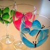 Up to 56% Off Wine-Glass-Painting Class