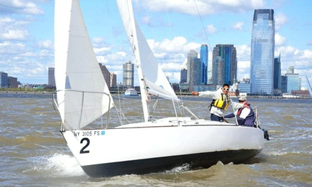 Sunday Breakfast Sail for One or Two or Sunset Sail for One from Hudson River Community Sailing (Up to 48% Off)